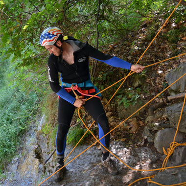 canyoning vertical adventure